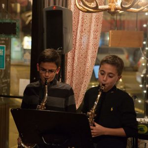 two-kids-performing